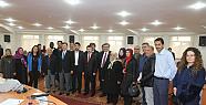 Karaman'da Türkçe Öğrenen Mültecilere Sertifika