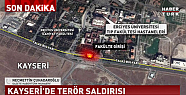 Kayseri Erciyes Üniversitesi önünde terör saldırısı oldu