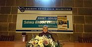 Kayseri'de Torunu Mehmet Akif Ersoy'u Anlattı