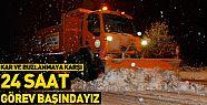 Konya Büyükşehir kar ve buzlanmaya karşı hazır