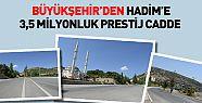 Konya Büyükşehir'den Hadim'e 3,5 Milyonluk Prestij Cadde