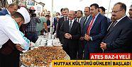 Konya' da Ateş Baz-ı Veli Mutfak Kültürü Günleri Başladı