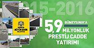 Konya Güneysınır'a 5,9 Milyonluk  Cadde Yatırımı Yapıldı