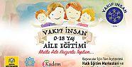 Konya'da 0-18 yaş aile eğitimleri verilecek