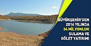 Konya'da  2016' da 34 Milyonluk Sulama ve Gölet Yatırımı Yapıldı