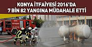 Konya'da 2016 yılında 7 Bin 82 Yangına...