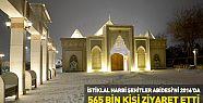 Konya'da 2016 Yılında Şehitler Abidesi'ni  565 Bin Kişi Ziyaret Etti