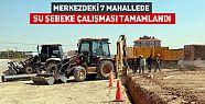Konya'da 7 Mahallede Su Şebeke Çalışması sona erdi