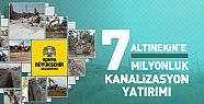 Konya'da Altınekin'e 7 Milyonluk Kanalizasyon Yatırımı