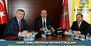 Konya'da Tarihi Türbelerin İhyası Protokolü İmzası Atıldı