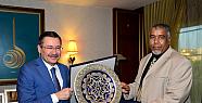 Libya'dan gelen heyet Başkan Gökçek'i Ziyaret Etti