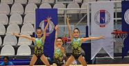 Manisa'da düzenlenen jimnastik müsabakaları bu gün sona eriyor