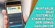 Muhtarlık Bilgi Sistemi Mubis ile Konya'da işler daha kolay