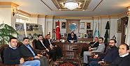 Müsiad Yönetimi Başkan Yazgı'yı  Ziyaret Etti