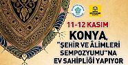 Şehir ve Âlimleri Sempozyumu, Konya'da Başlıyor