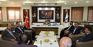 TÜMSİAD yönetim kurulu üyeleri, Başkan...