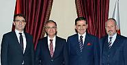 Vali Tapsız'dan Ankara Valisi Topaca'ya...
