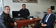 Vali Tapsız Basın Kuruluşlarını ziyaret etti