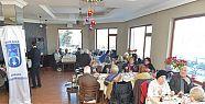 Yaşlılara hizmet merkezi kahvaltıda buluştu