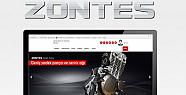 Zontes yedek parça web sitesi açıldı