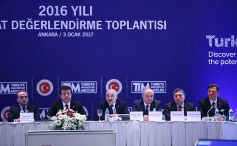 Türkiye İhracatı 2017 Yılında 155 Milyar Dolara Yükseliyor