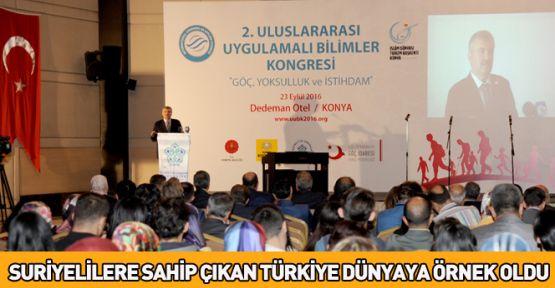 Türkiye Suriyelilere Sahip Çıkarak Dünyaya Örnek Oldu