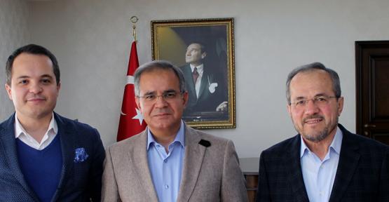 TYDTA Başkanı Arda Ermut,  Vali Tapsız'ı Ziyaret Etti