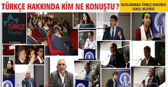 Uluslararası Türkçe Kongresi bu yıl Saray Bosna'daydı