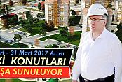 Karaman'da TOKİ daireleri satışa sunuluyor