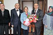 Yaşlılar Haftasında Vali Tapsız'ı ziyaret ettiler