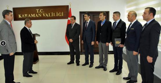 Vali Süleyman Tapsız, Emniyet ve Jandarma Personelini Ödüllendirdi