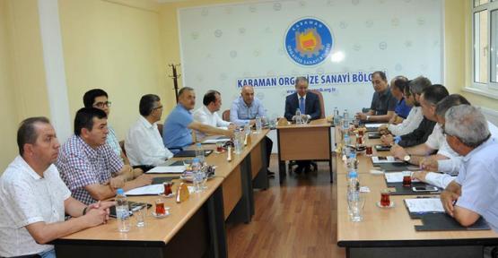 Vali Tapsız, OSB Müteşebbis Heyeti ile Toplantı Yaptı