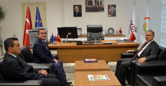 Vali Tapsız TKDK İl Koordinatörlüğünü Ziyaret Etti