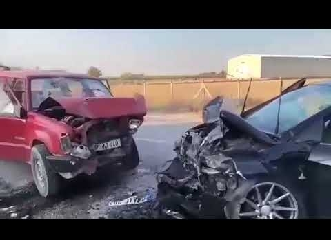 Kılbasan yolu kaza