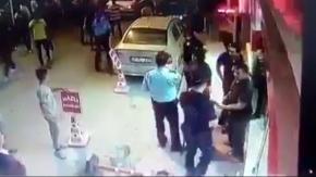 Süriyelilerin Esnafa ve Polise Saldırısı