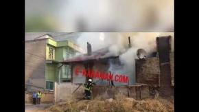 Karaman Mülteci Evi Yangını